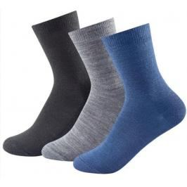 Ponožky Devold DAILY LIGHT KID SOCK 3 pack 592-023 273