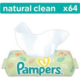 PAMPERS Natural Clean 64 ks