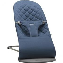Babybjörn Lehátko Bouncer BLISS Midnight Blue Cotton